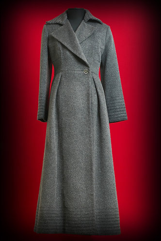Пальто из шерсти длинное DressTheatre Couture by Dora Blank