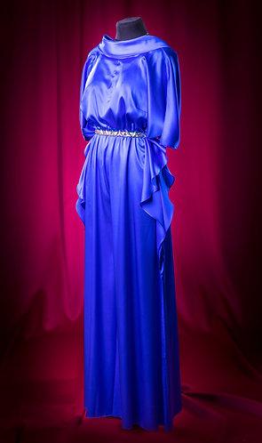 Комбинезон из шелка с поясом Swarovski. DressTheatre Couture by Dora Blank
