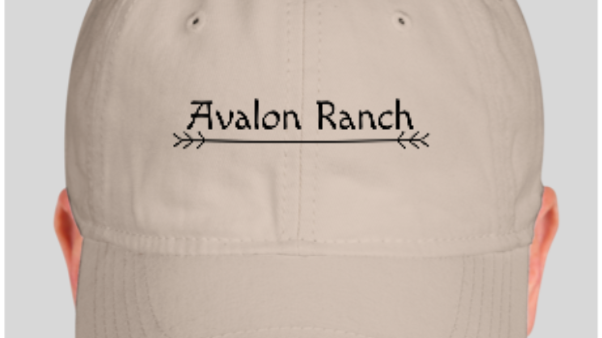 Avalon Ranch Embroidered Hat