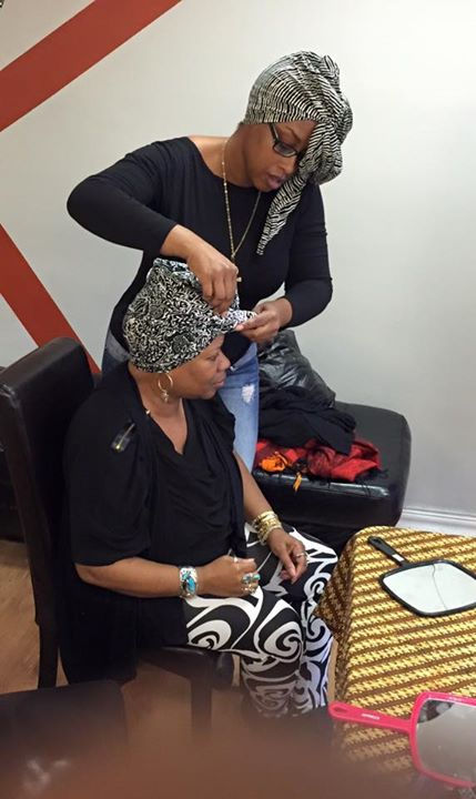 Urban Head Wrapping Session
