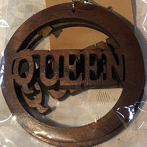 "Queen 2"" dark brown"
