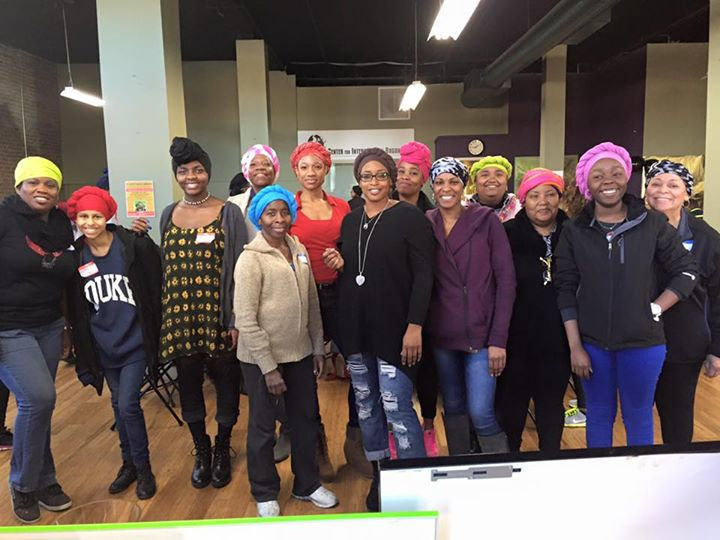 Urban Head Wrapping Party/Workshop