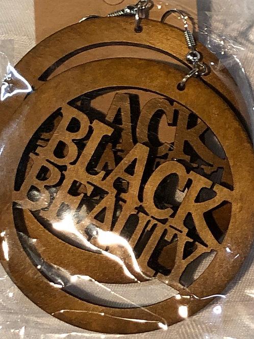 """Black Beauty natural wood 2"""""""