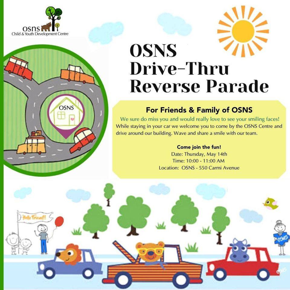 OSNS Drive-Thru Reverse Parade