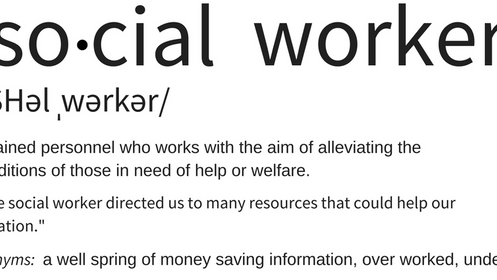 Key Term: Social Worker