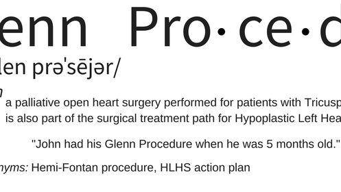 Surgeries: Glenn Procedure