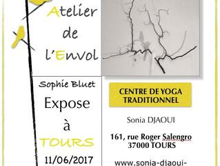 L'atelier de l'envol a exposé à Tours le 11/06/2017