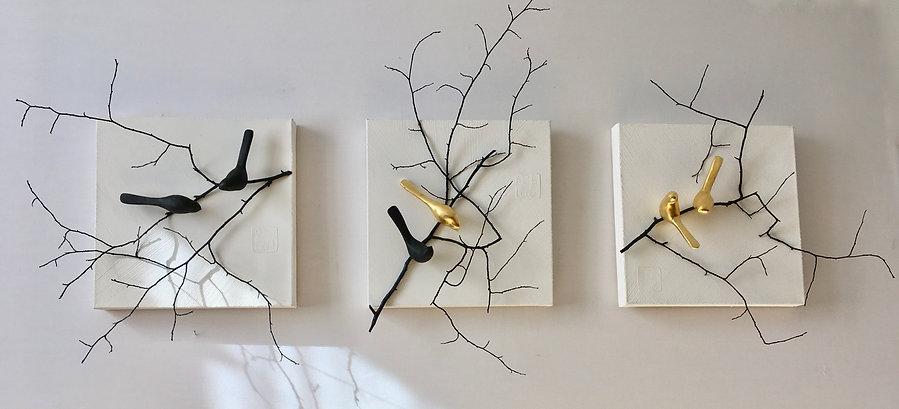 oiseaux murale