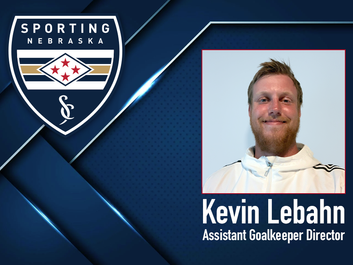 Sporting NE FC welcomes Kevin Lebahn to the staff