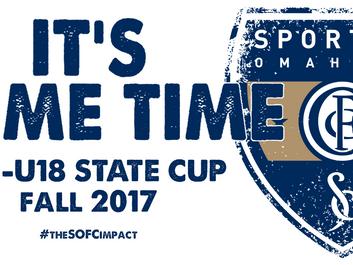 U15-U18 SOFC Fall State Cup Schedule