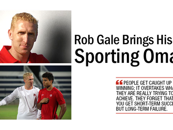 Rob Gale Brings His Insight to Sporting Omaha FC