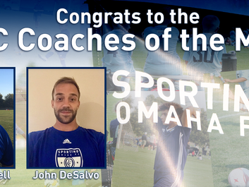 SOFC Coaches of the Month