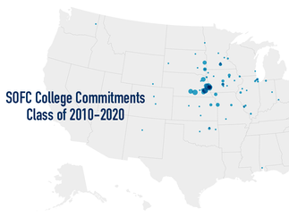 350+ College Recruits from SOFC in the last decade
