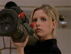 Buffy: Vampire Slayer and Queen of My World