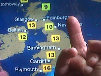 Rise Up Against Our Oppressor: BBC Weather