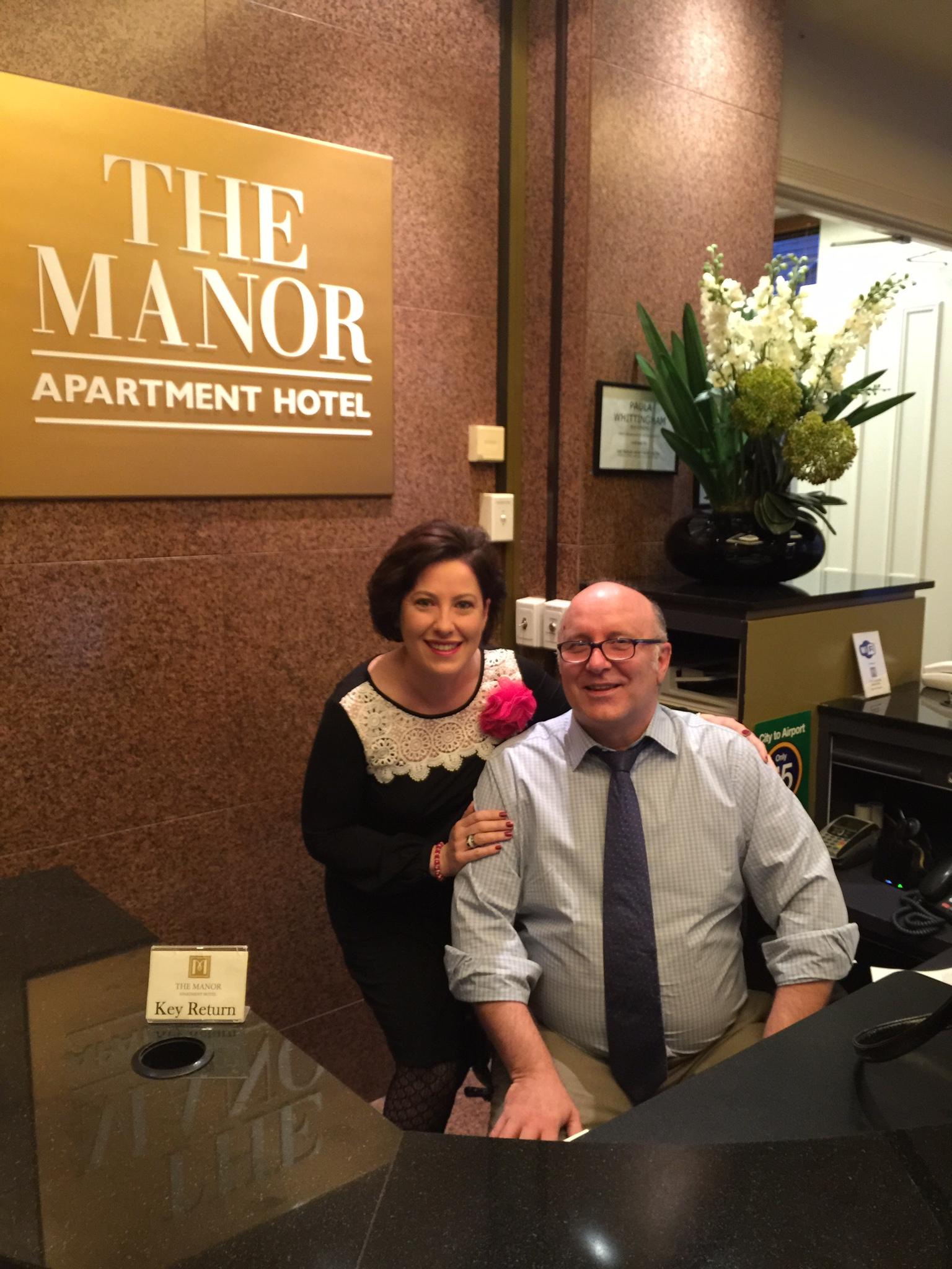 Meeting a customer servicel legend!