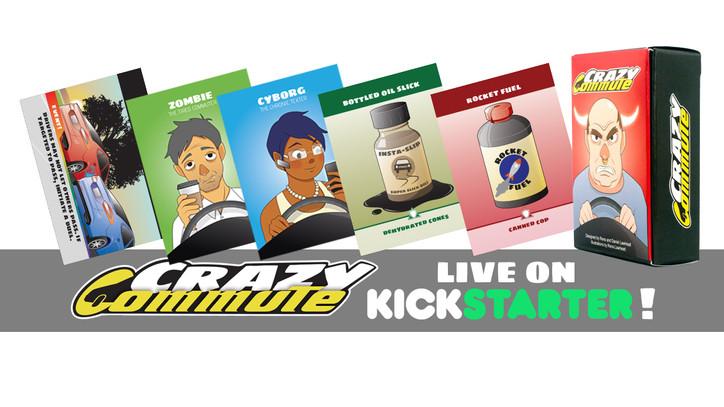 Crazy Commute on Kickstarter!