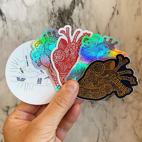 Five Stickers - Set 2