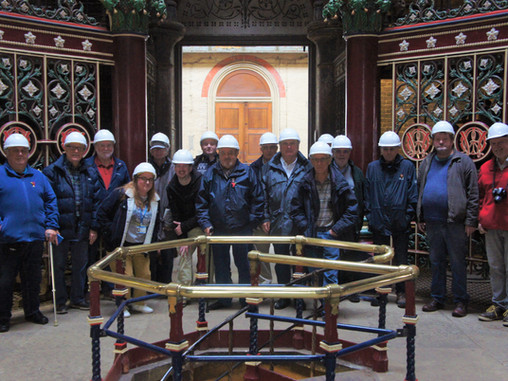 The Shed goes to Crossness Pumping Station!