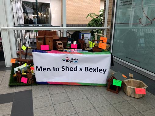 Men in Sheds at Erith Market!