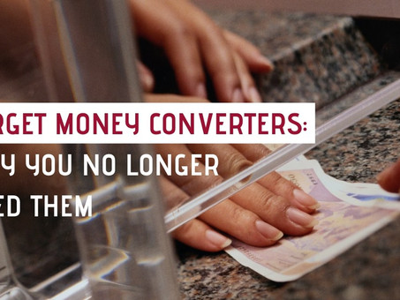 Forget money converters: why you no longer need them