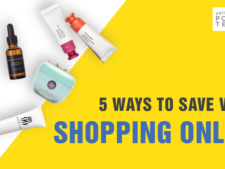 5 ways to save while shopping online