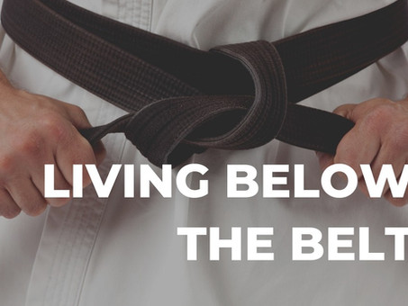 'Living Below The Belt' challenge: can you do it?
