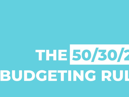 Have trouble budgeting? Try the 50/30/20 rule