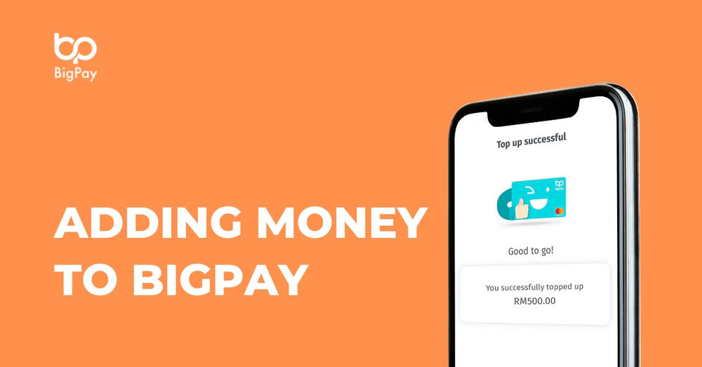 How to add money to my BigPay account?