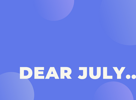 Dear July, we had lots of fun! Love, BigPay