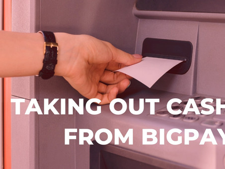 Can I withdraw money from BigPay?