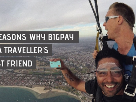 5 reasons why BigPay is a traveller's best friend ✈️