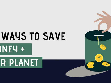 10 ways to save money and the environment