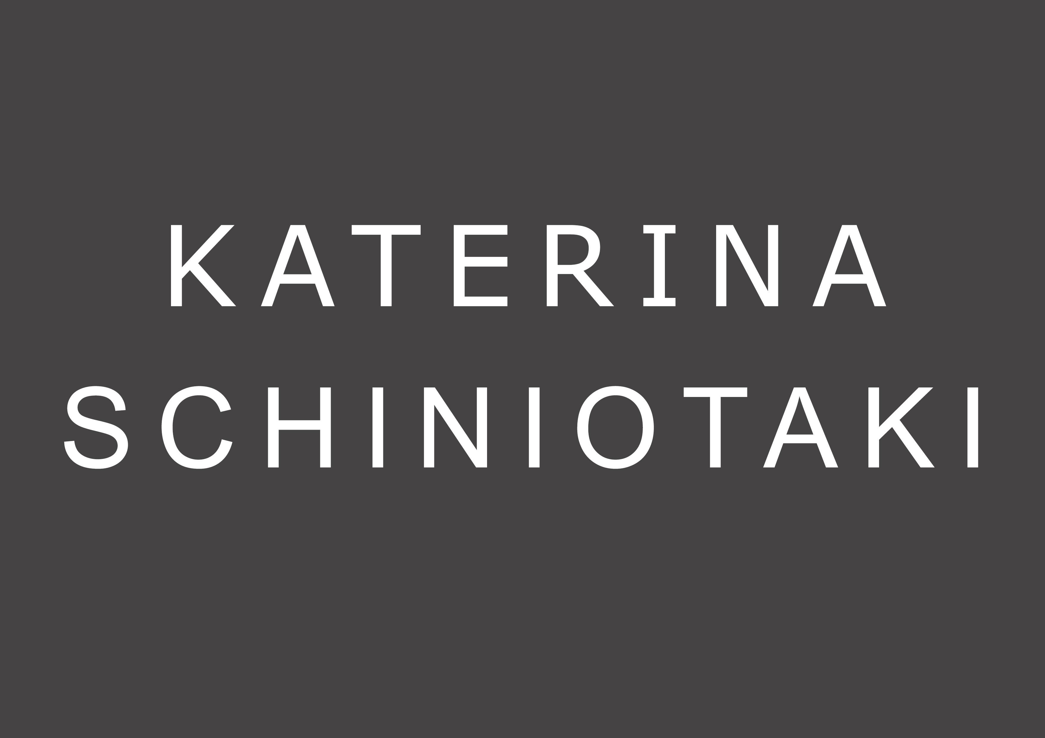 KATERINA SCHINIOTAKI