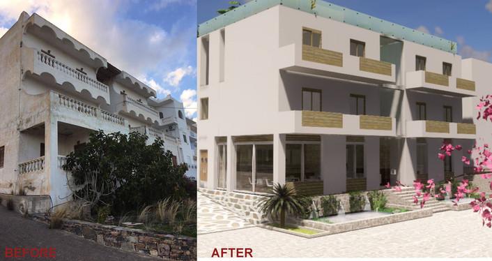 Hotel Restoration Agios Nikoloas Crete