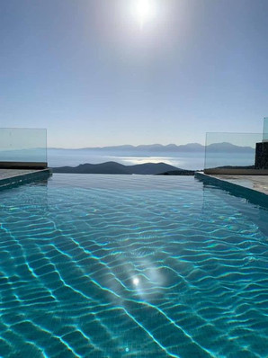 Pool Luxury Villa Havgas Elounda Crete
