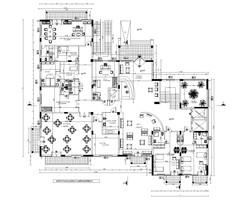 Plan ground floor retirement home