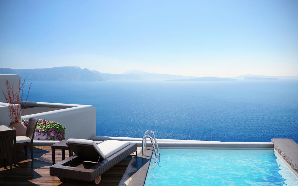 Luxury Suites in Santorini