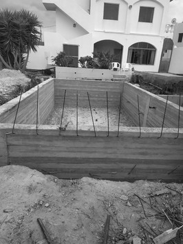 Pool Construction Apartment Complex Kato Gouves Crete