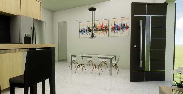 Apartment Interior Design 3D Visualization-Elounda Crete