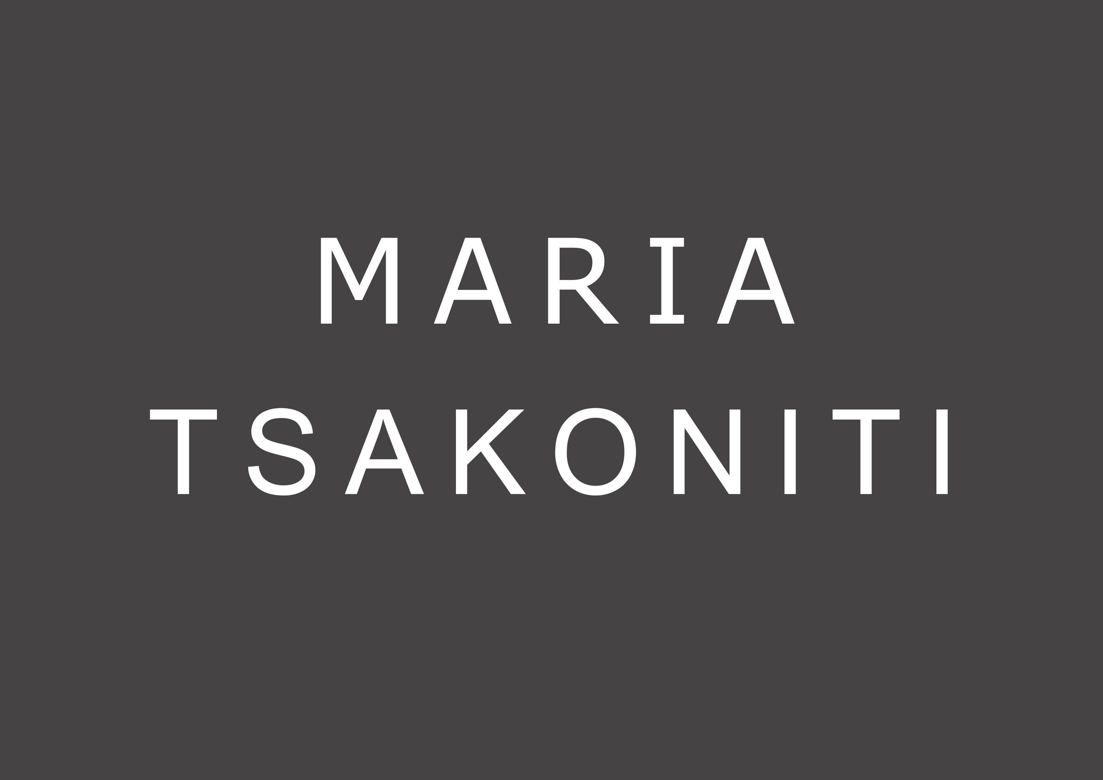 MARIA TSAKONITI