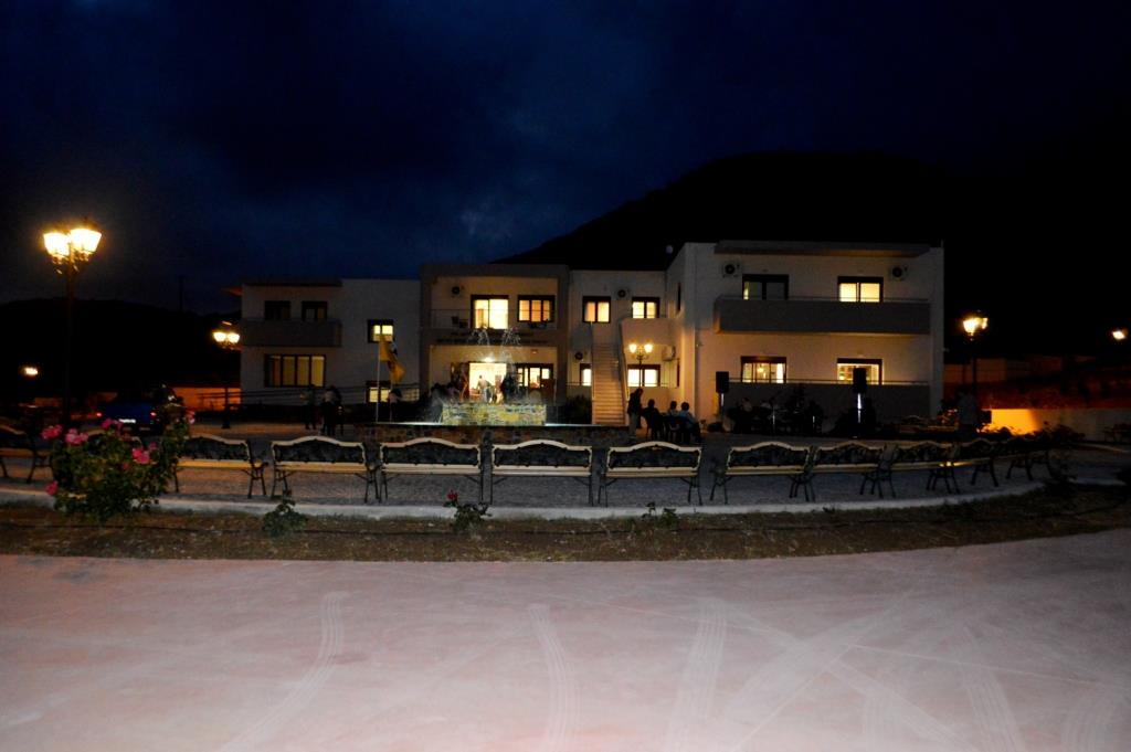 Retirement Home by night