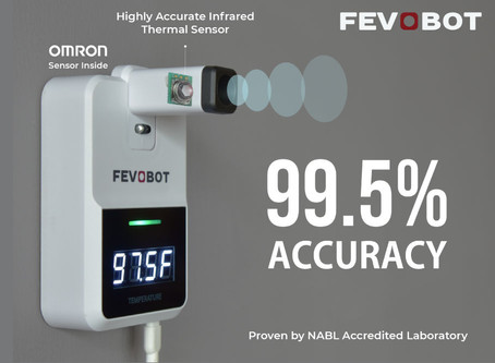 5 reasons why Fevobot is the most Accurate Contactless Infrared Thermometer