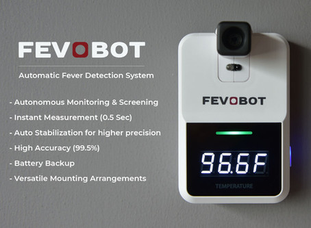 Fevobot is now Integrated with Spectra Access Control System