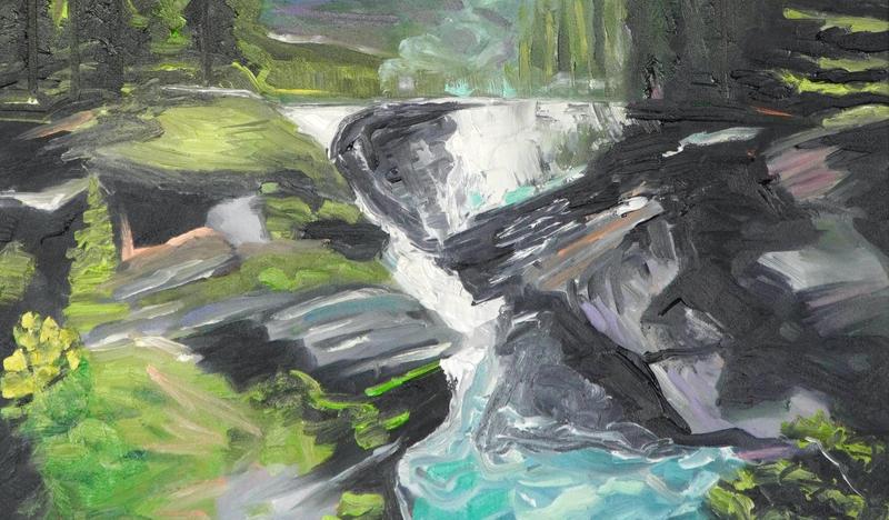 Athabasca Falls 032