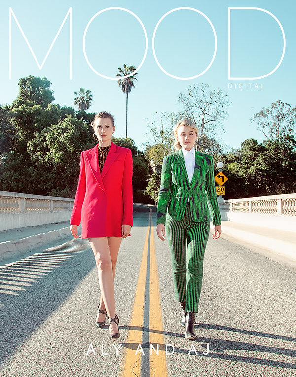 Actors, Musician duo, and former disney staRS aLY AND aj pHOTOGRAPHED AND INTERVIEWED FOR MOOD MAGAZINE BY ANTHONY GIOVANNI AND EDWIN J ORTEGA