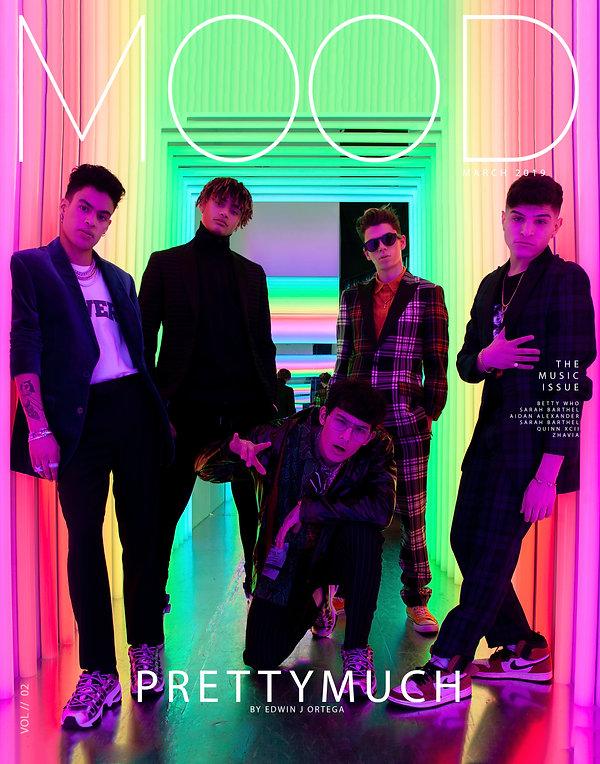 Sony music boy band PRETTY MUCH for mood magazine Photo by Edwin J Ortega