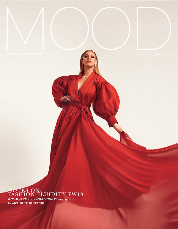 5th Harmony member, solo musician and singer  Dinah Jane photographed and interviewed for MOOD Magazine. Photos by Edwin J Ortega and Anthony Giovanni