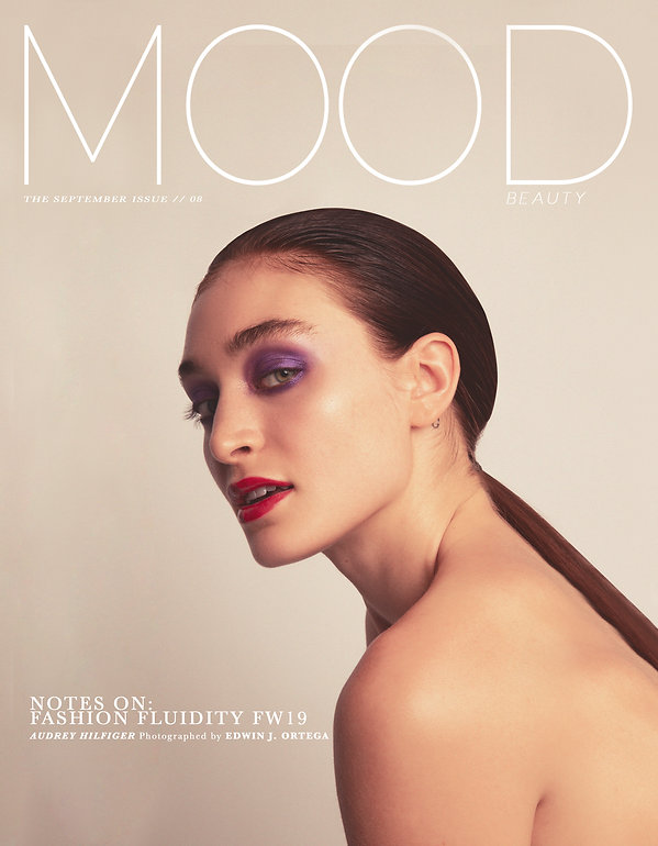 Model, Audrey Hilfiger, of Elite Model Management, photographed for MOOD Magazine. Photography by Anthony Giovanni and Edwin J Ortega