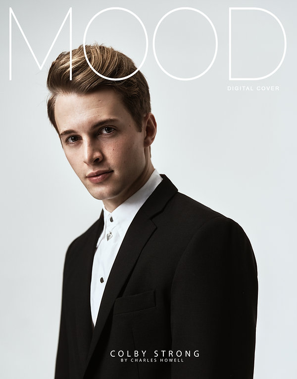 actor and power ranger Colby strong photographed for MOOD magazine
